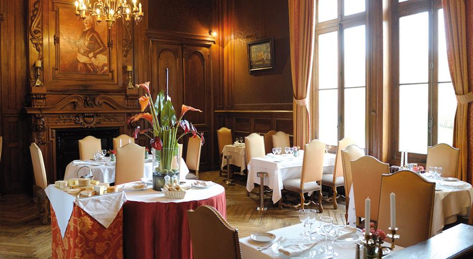 Restaurant ch teau de la tremblaye for Tiffauges restaurant