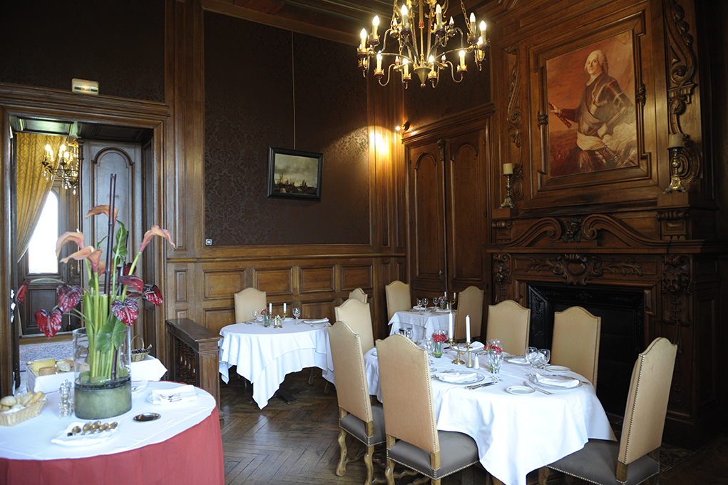 Restaurant3 ch teau de la tremblaye for Tiffauges restaurant